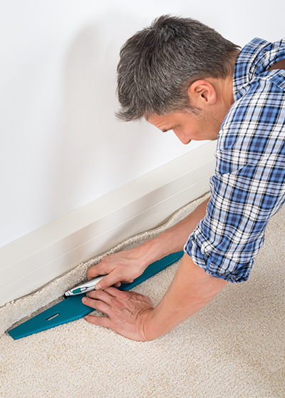 professional carpet installation in a Vancouver home