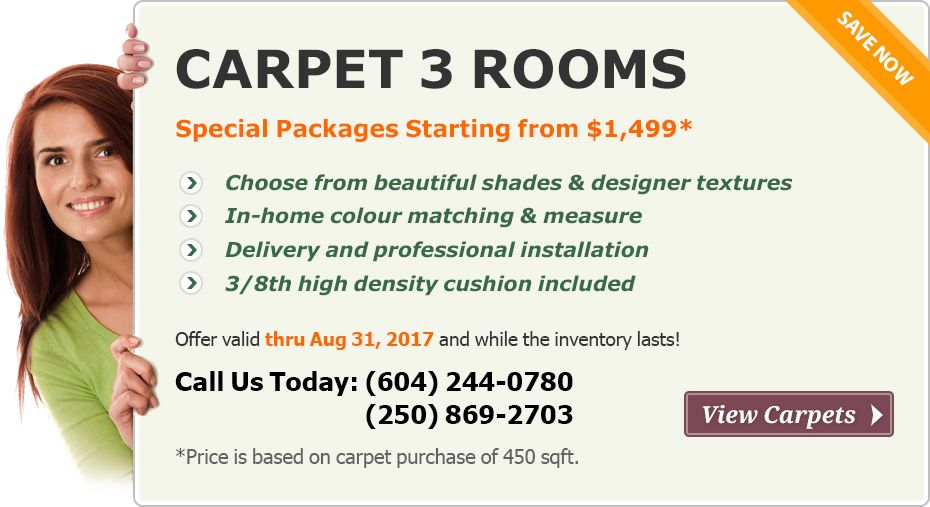 home carpet specials