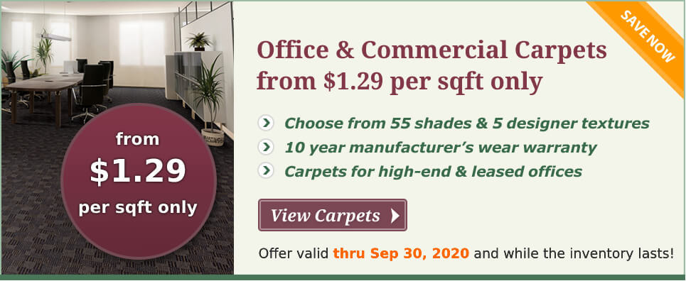 commercial carpet special